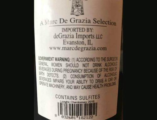 """What Does """"Contains Sulfites"""" Mean?"""